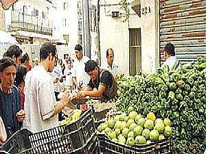 تباين أسعار الخضروات والفاكهة بسوق العبور.. والطماطم تسجل 1.75 جنيه